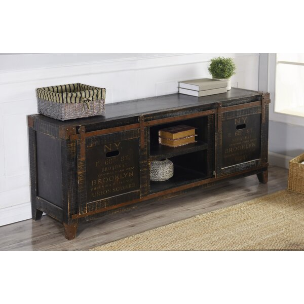 Leia Solid Wood TV Stand For TVs Up To 78