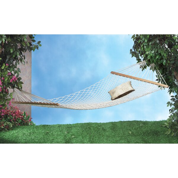 Jonell Rope Cotton Double Camping Hammock by Beachcrest Home Beachcrest Home