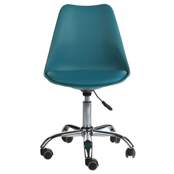 Burel Mid-Century Modern Office Chair by Ebern Designs