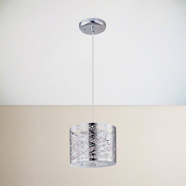 Mica 1-Light Drum Pendant by Zipcode Design