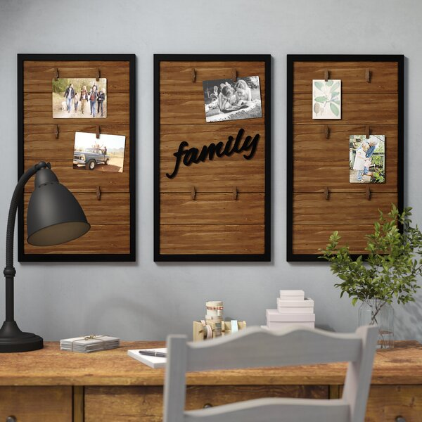 3 Piece Mccaughey Wood Picture Frame Set by Gracie Oaks