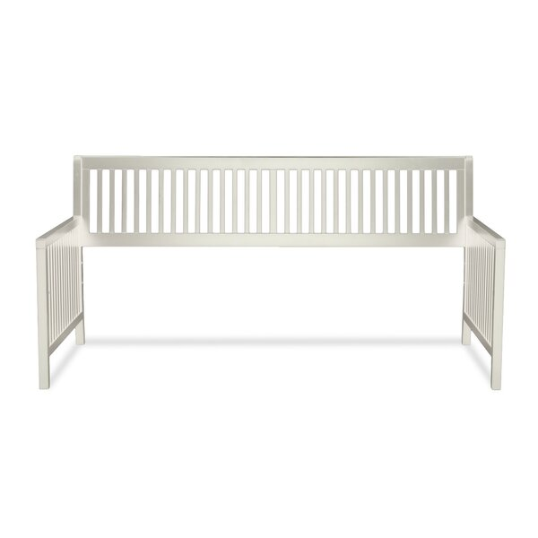 Chafin Wood Daybed Frame with Open-Slatted Back an