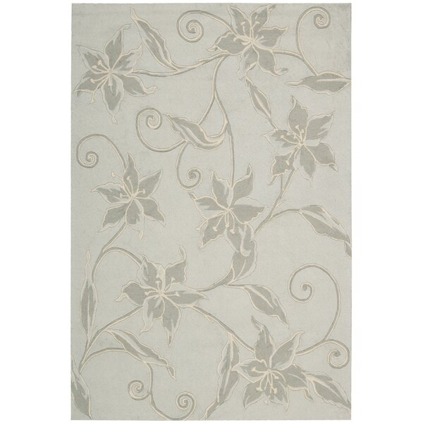 Carlina Grey Area Rug by August Grove