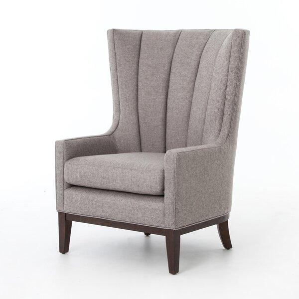 Elderton Wingback Chair by Gracie Oaks