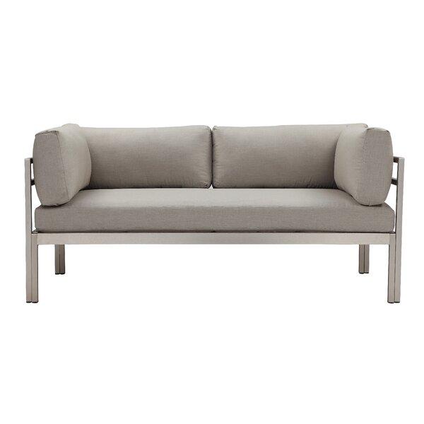 Valmont Loveseat with Cushions by Latitude Run Latitude Run