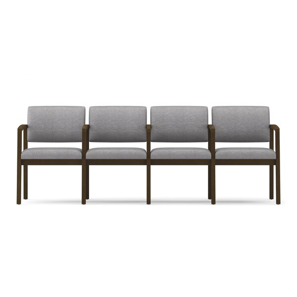 Lenox Four Seat Sofa with Center Arms by Lesro