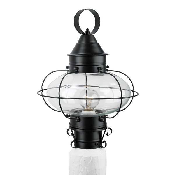 Audun Outdoor 1-Light Lantern Head by Longshore Tides