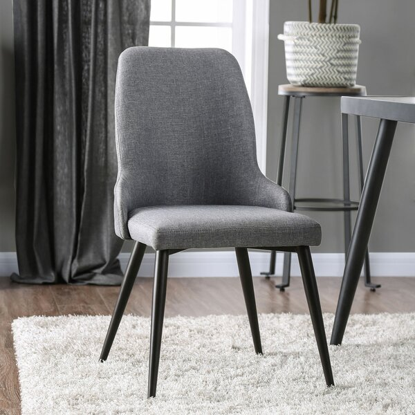 Straw Upholstered Dining Chair (Set of 2) by Brayden Studio