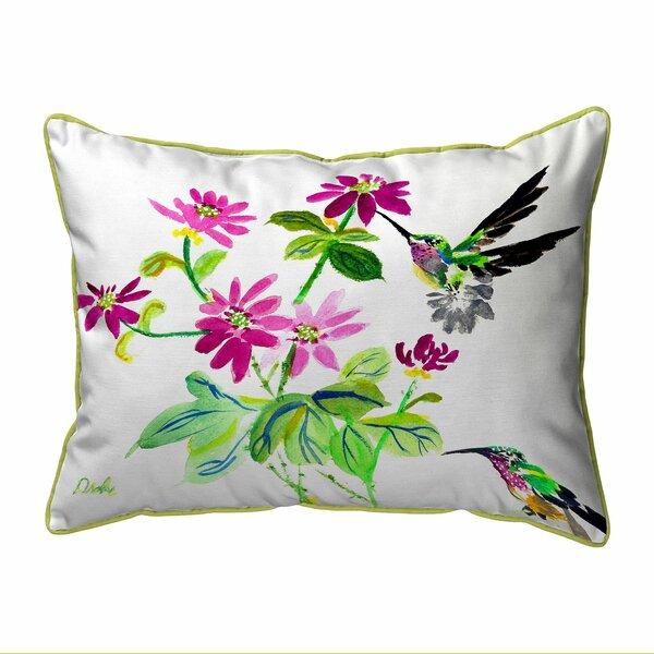 Lynelle Zippered Indoor/Outdoor Lumbar Pillow