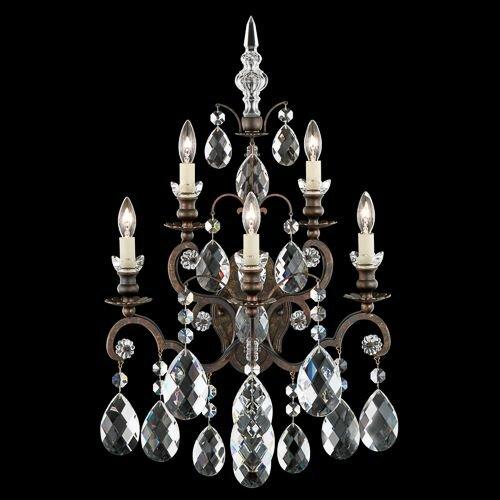 Renaissance 5-Light Candle Wall Light by Schonbek