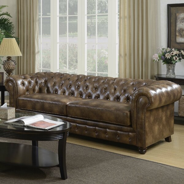 Caine Chesterfield Sofa by Trent Austin Design