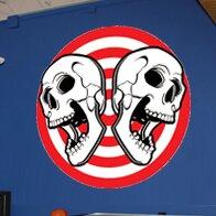 Death Board Cutout Wall Decal by Wallhogs