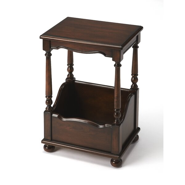 Bettencourt Cherry End Table by Astoria Grand