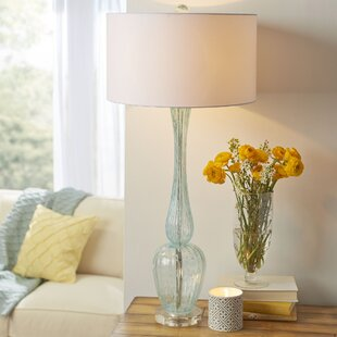 Sea glass table lamp wayfair marino glass table lamp mozeypictures Images