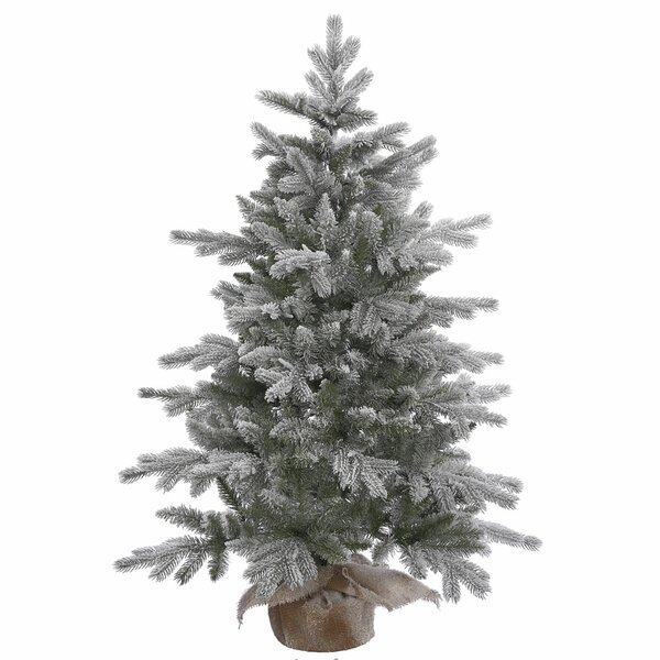 48 Frosted Pine Artificial Christmas Tree with Stand by The Holiday Aisle