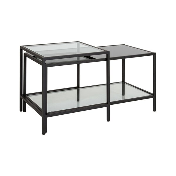 Elle 2 Piece Coffee Table Set by Wrought Studio Wrought Studio