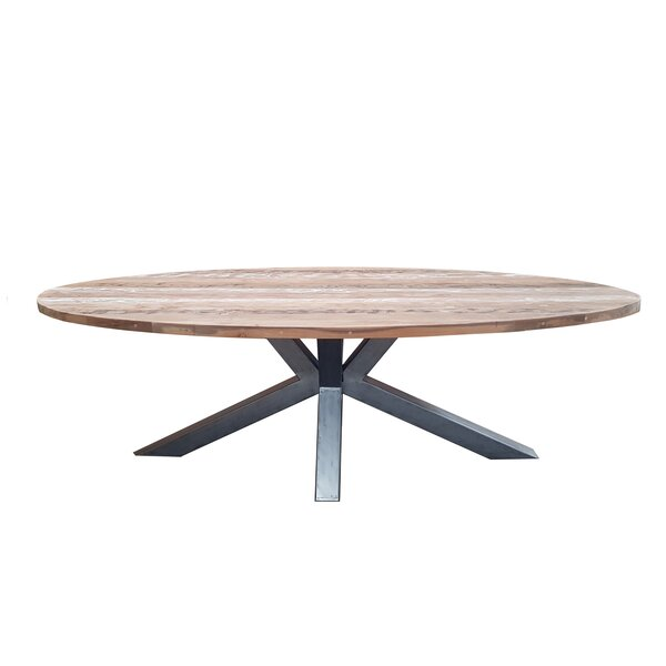 Burciaga Teak Dining Table by Gracie Oaks