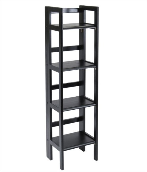 Basics Folding Etagere Bookcase by Winsome