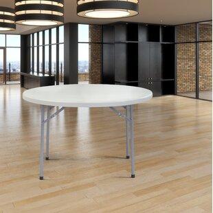 Tall Round Folding Table   Wayfair