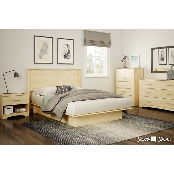 Gramercy Queen Platform Configurable Bedroom Set by South Shore