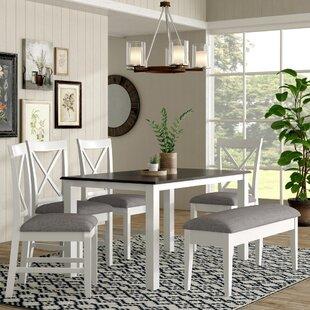 Amaury 6 Piece Dining Set By Laurel Foundry Modern Farmhouse