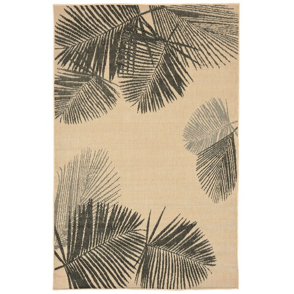 Cecile Natural Indoor/Outdoor Area Rug by Beachcrest Home