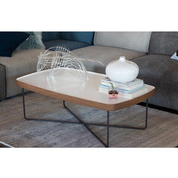 Aiana Cross Legs Coffee Table by Brayden Studio Brayden Studio