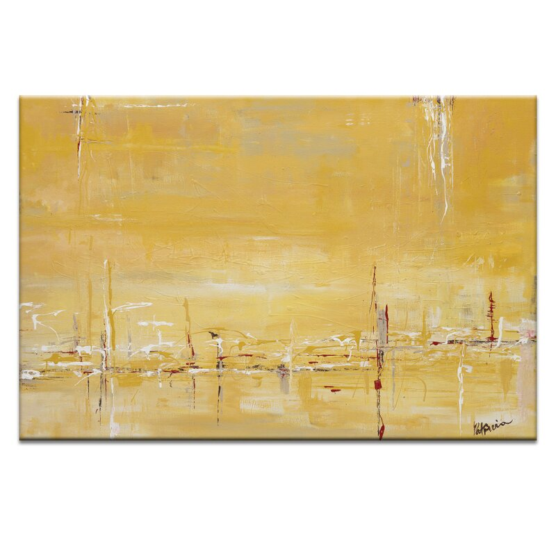Summer Glow By Patricia Baliviera Painting Print On Wrapped Canvas Buy Online In Faroe Islands At Faroe Desertcart Com Productid 131381056
