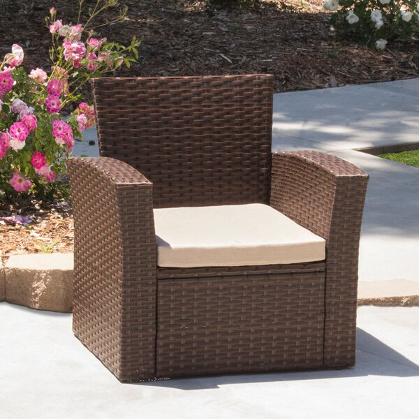 Hope Patio Chair with Cushions (Set of 2) by Ivy Bronx