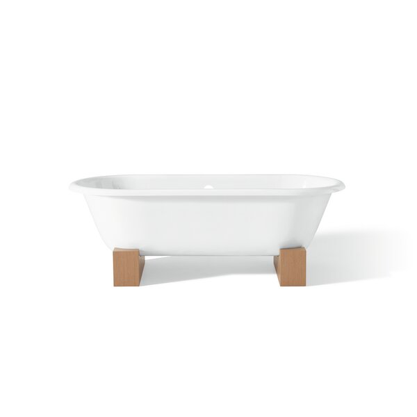 Regal 68 x 31 Soaking Bathtub with Continuous Rolled Rim by Cheviot Products