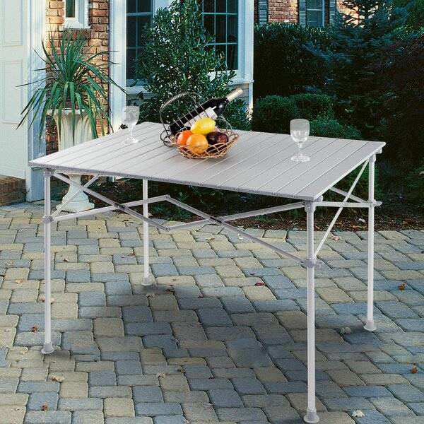 Zwingle Folding Aluminum Camping Table by Ebern Designs