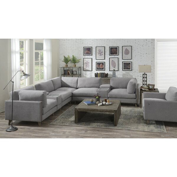 Rowling 7 Piece Reversible Modular Sectional by Brayden Studio