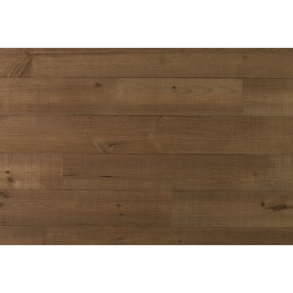 Homestead 5.5 Solid Wood Wall Paneling in Brown by New England Classic