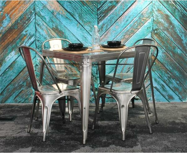 Helton Cafe Dining Table by Williston Forge