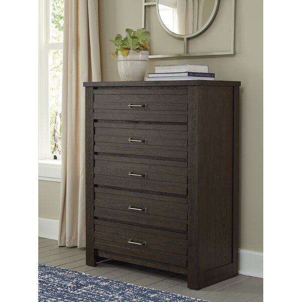 Heckstall 5 Drawer Standard Dresser/Chest by Charlton Home