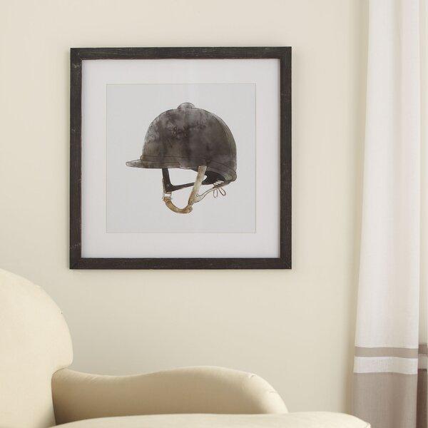 Riding Hat Framed Print by Birch Lane™
