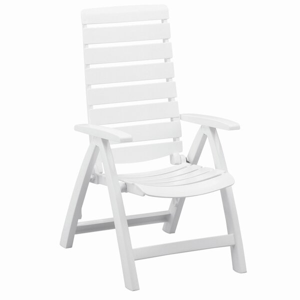 Rimini Multi-Position High Back Chair in White by Kettler USA