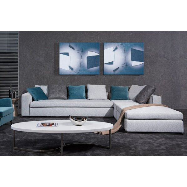 Coalpit Heath Sectional with Ottoman by Orren Ellis