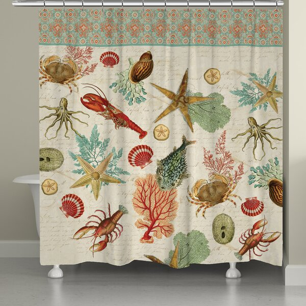 Beyond the Surf Shower Curtain by Laural Home