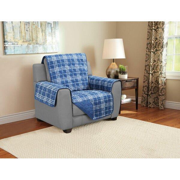 Giannini Plaid Furniture Protector by Charlton Home