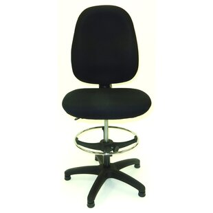 50.5 Upholstered Seat Drafting Chair by Symple Stuff Savings