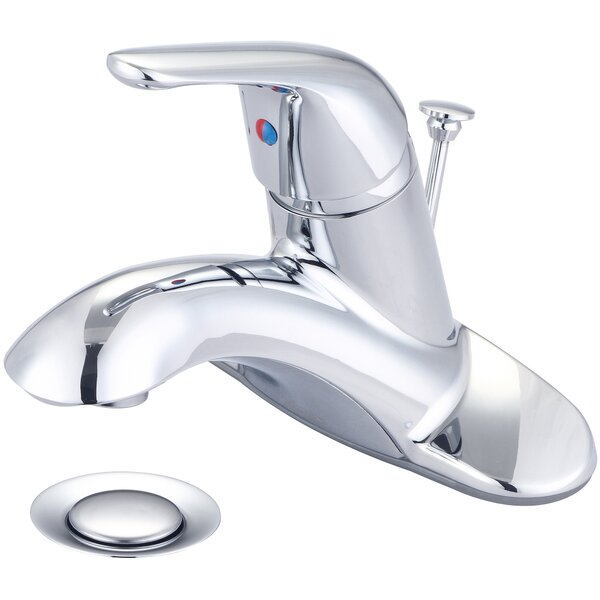 Elite Single Handle Lavatory Centerset Bathroom Faucet with Drain Assembly