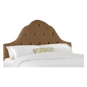 Handley Upholstered Panel Headboard by House of Hampton