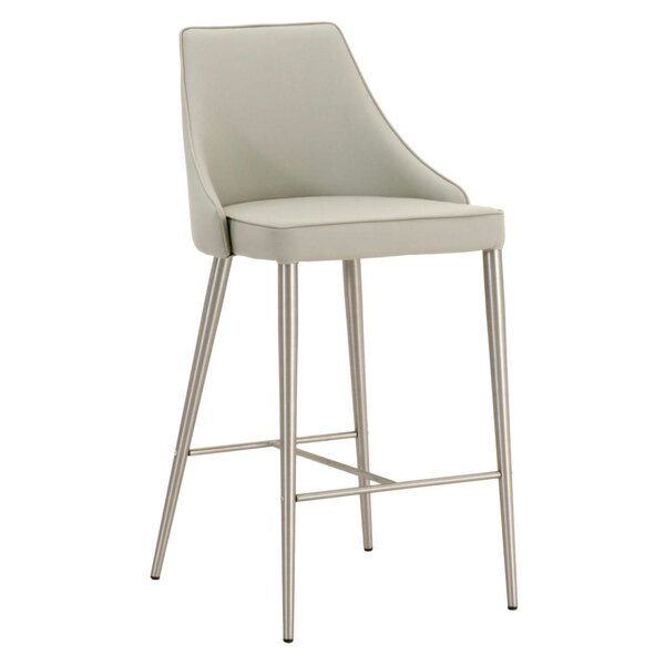 Fitzpatrick Upholstered Bar Stool by Ebern Designs
