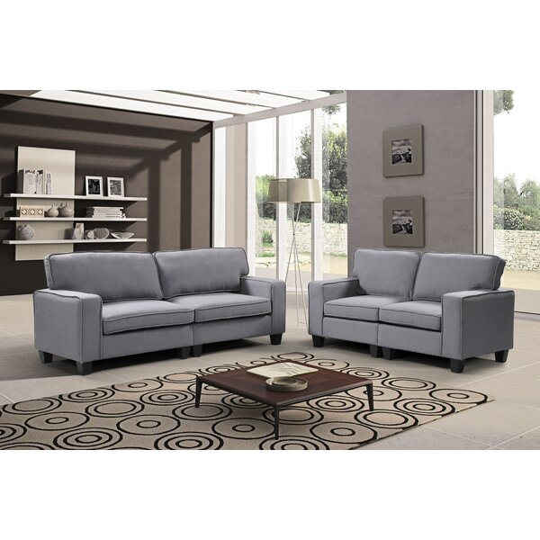 Jayapura 2 Piece Living Room Set by Alcott Hill