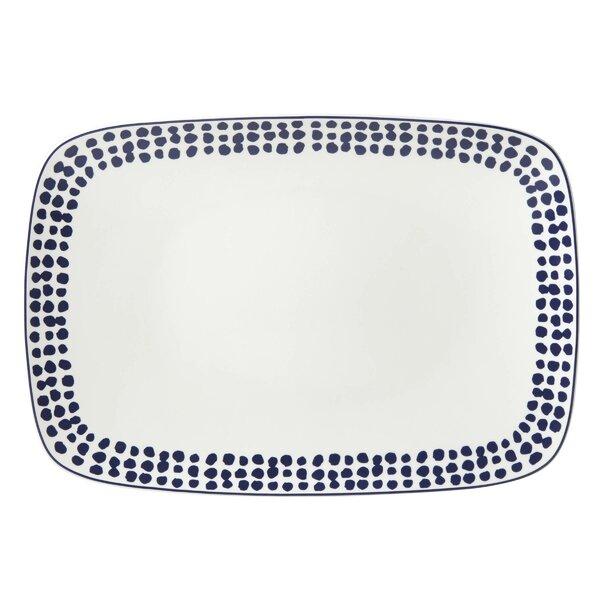 Spring Street Cobalt Platter by kate spade new york