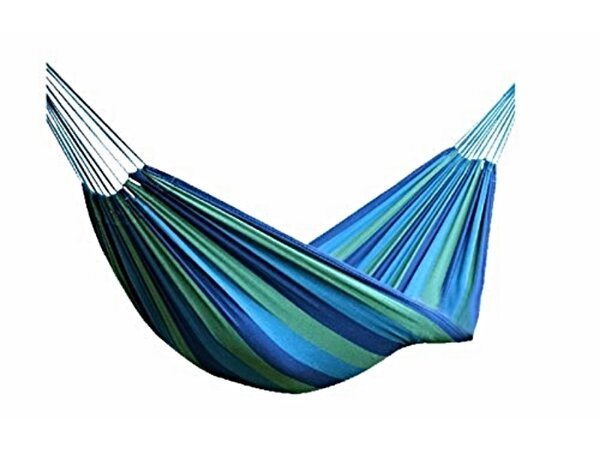 Striped Canvas Outdoor Tree Hammock by GGI International