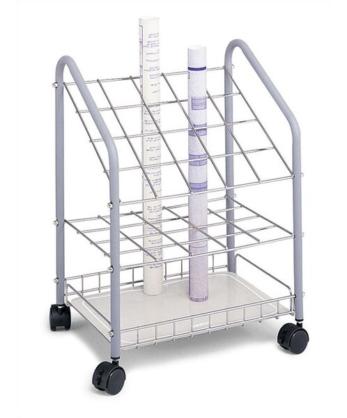 Terrie Roll File Filing Cart by Symple Stuff
