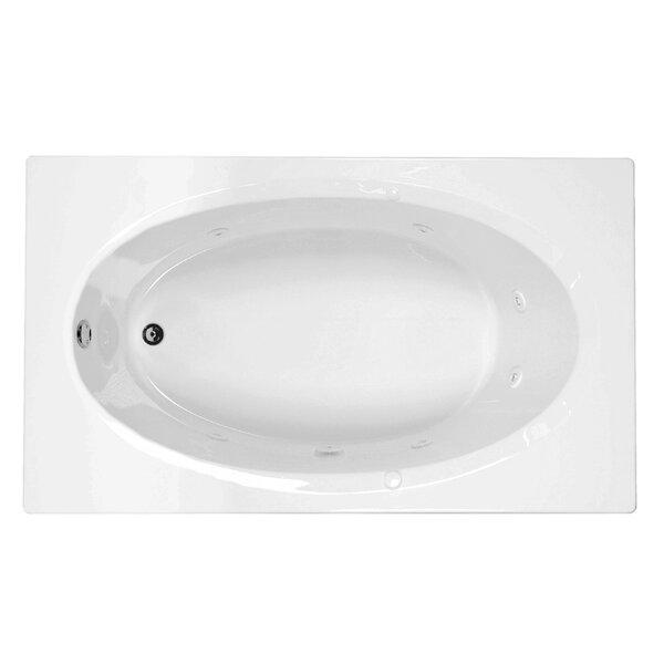 Reliance 71 x 41.5 Soaking Bathtub by Reliance