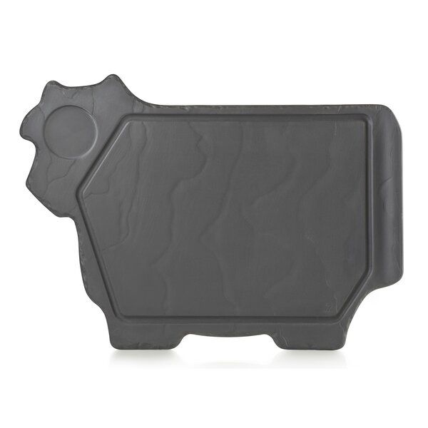 Basalt Cow Platter by Revol